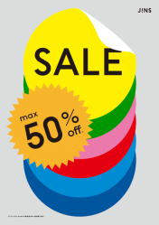 MAX50%OFF!! JINSのFINAL SALE実施中★